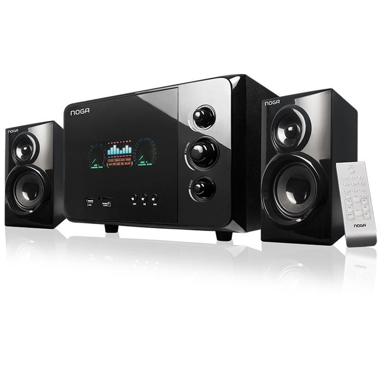 PARLANTES MULTIMEDIA NOGANET BLUETHOOTH 2.1 40W.