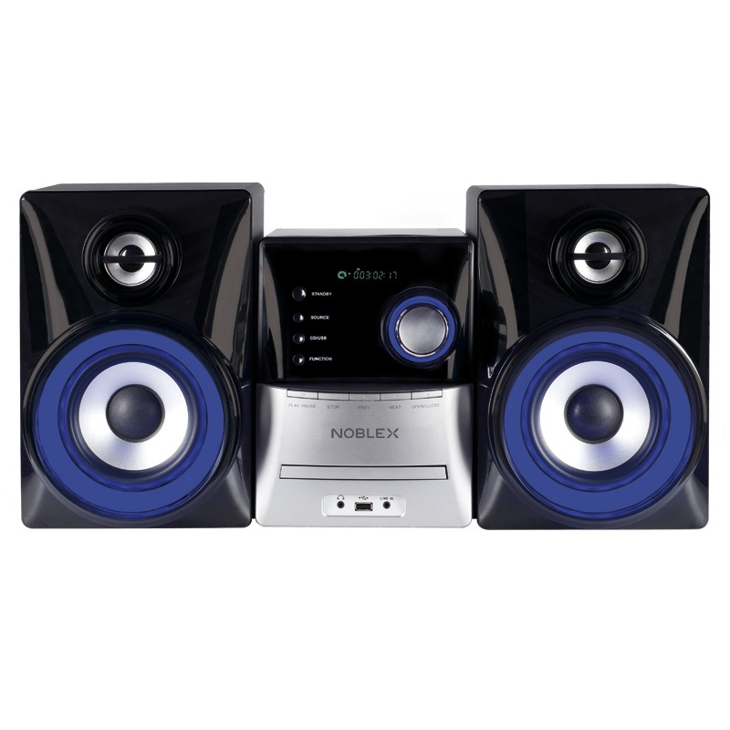 MINICOMPONENTE NOBLEX 1800W/CD/USB/AUX/BLUETOOTH.