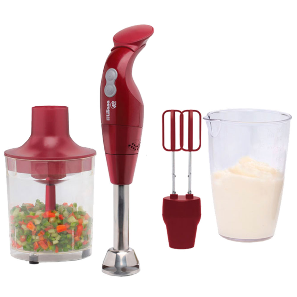 PROCESADORA MANUAL LILIANA MASTERCHERRY CHOPPER CON BATIDOR 400W