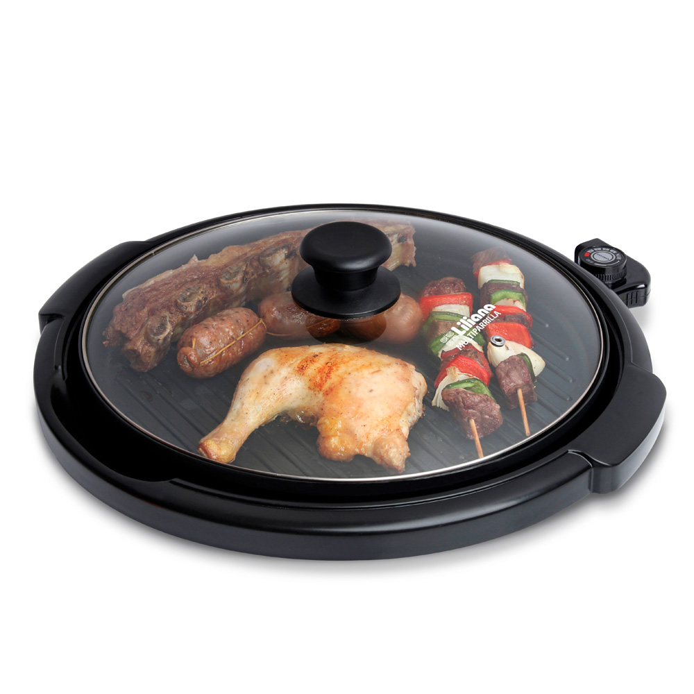 PARRILLA ELECTRICA LILIANA BROCHETTE/1500W.