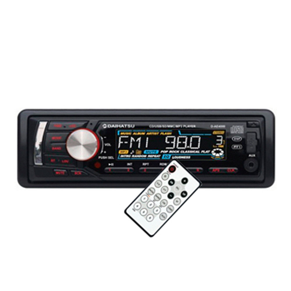 REPRODUCTOR DAIHATSU 50W CD/MP3/USB/SD.