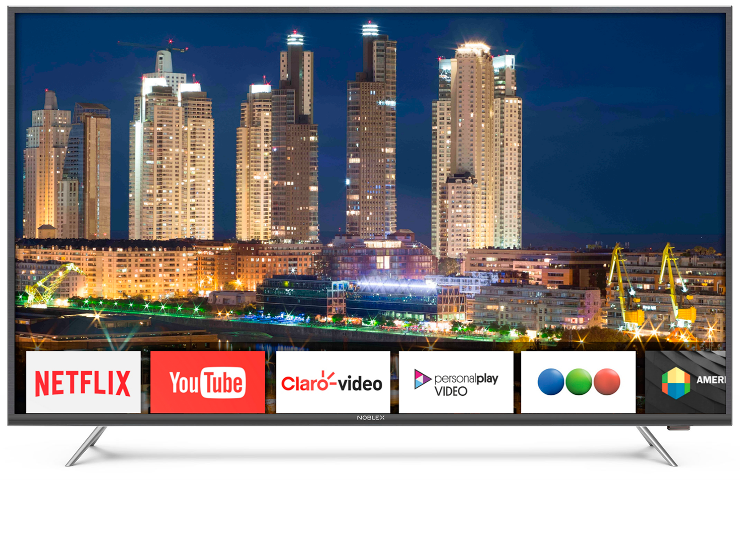 "SMART TV LED NOBLEX 43"" UHD-4K/HDR/NETFLIX"
