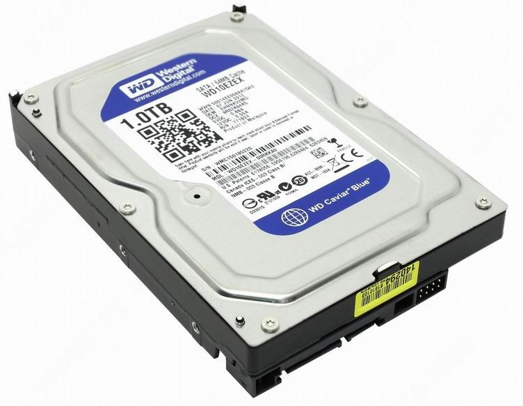 DISCO RIGIDO WESTERN DIGITAL 1TB BLUE.