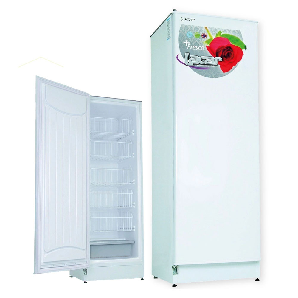 FREEZER VERTICAL LACAR BLANCO 250LTS.