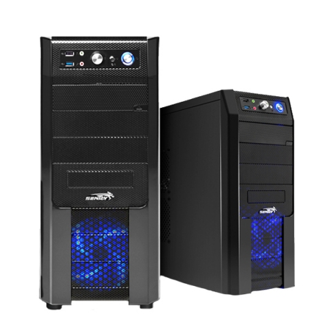 GABINETE SENTEY BLACK BOX C/AUDIO HD/FUENTE BXP650R.