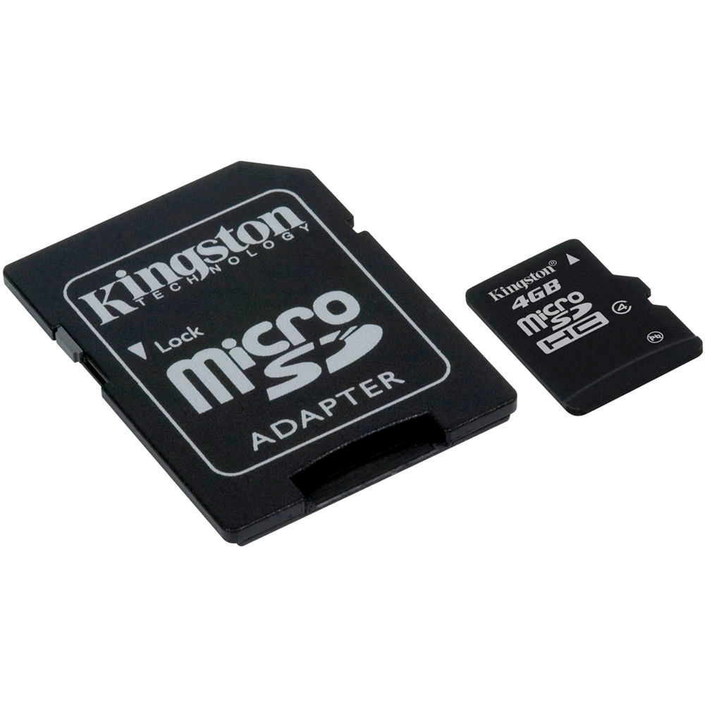 MEMORIA MICRO SD KINGSTON 4GB.