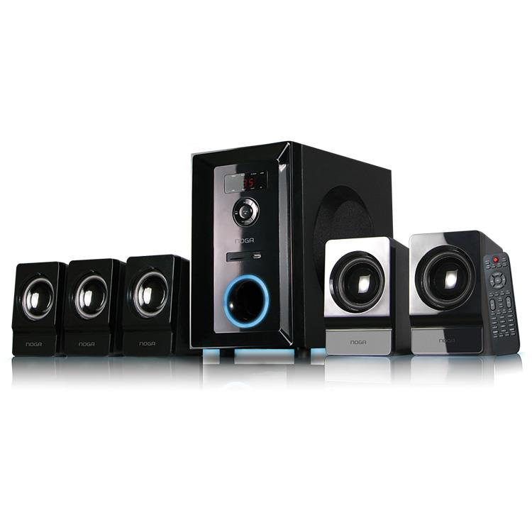 PARLANTES MULTIMEDIA NOGANET BLUETHOOTH 5.1 95W.