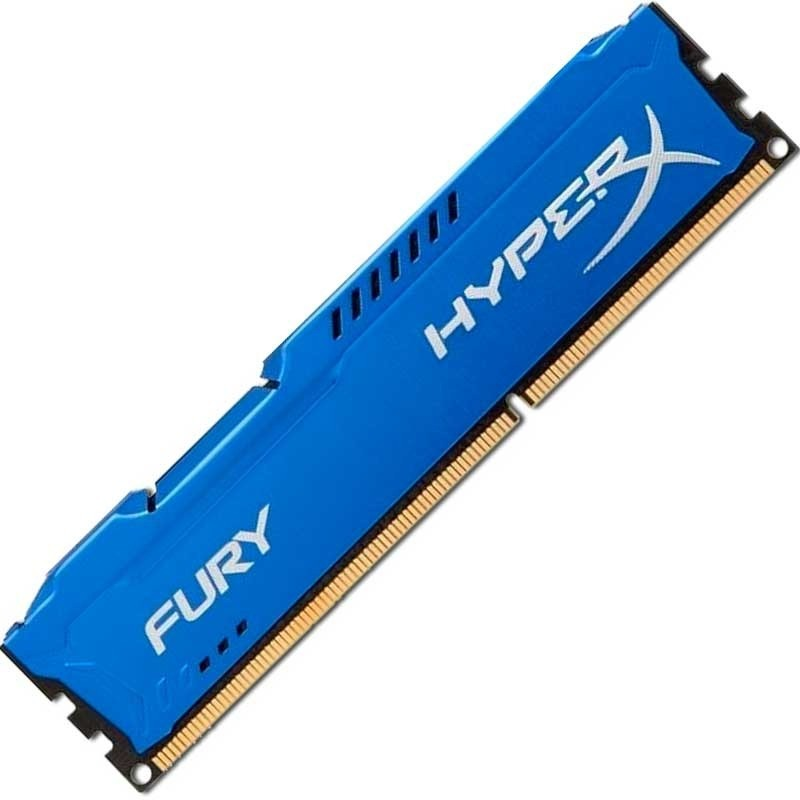 MEMORIA KINGSTON HYPER FURY DDR3 4GB.