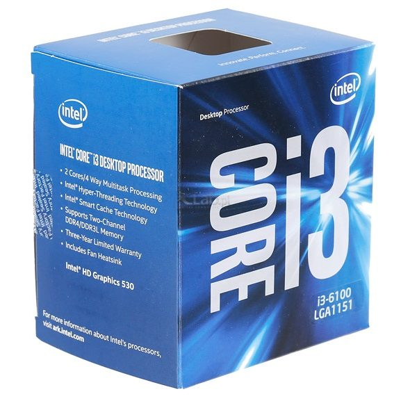 MICROPROCESADOR INTEL CORE I3-7100.