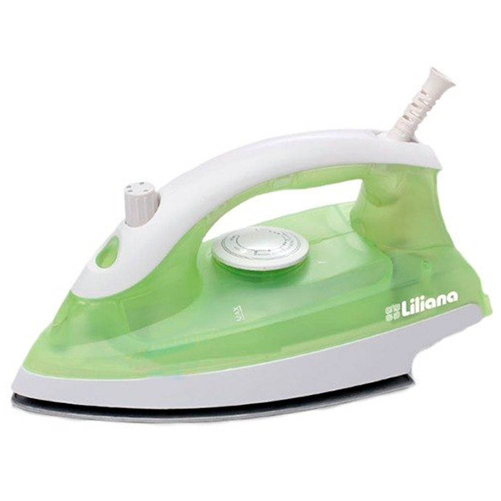 PLANCHA LILIANA BRUMA C/VAPOR REGULABLE 1100W.