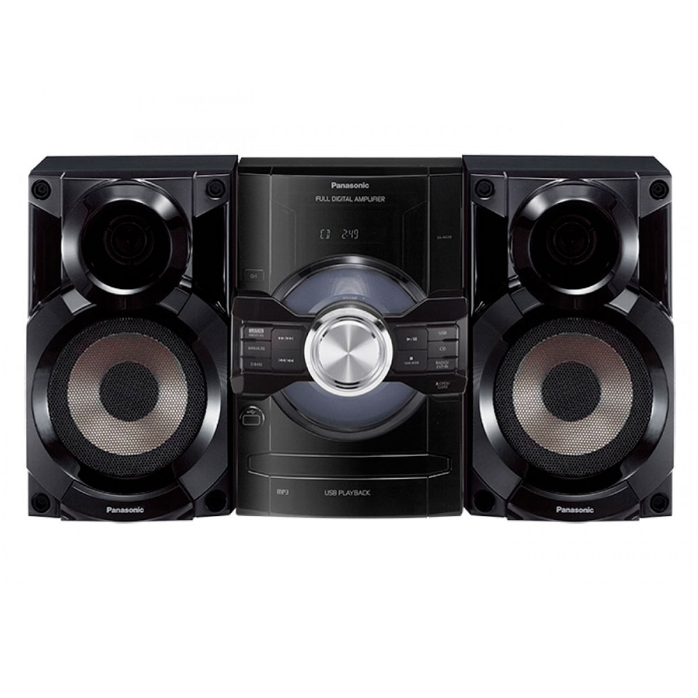 MINICOMPONENTE PANASONIC 2750W/CD/USB/AUX.