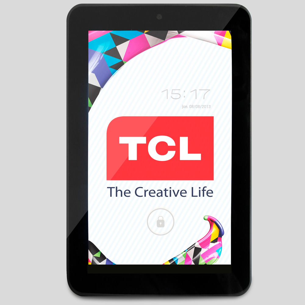 "TABLET TCL 7"" HD/ANDROID 4.1"