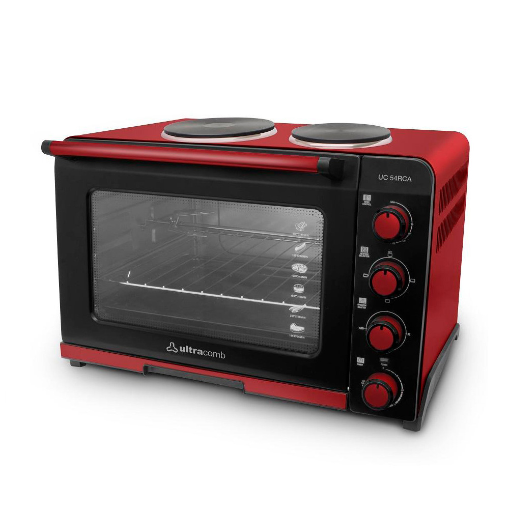 HORNO ELECTRICO ULTRACOMB 54LTS DOBLE ANAFE/ESPIEDO/3400W.