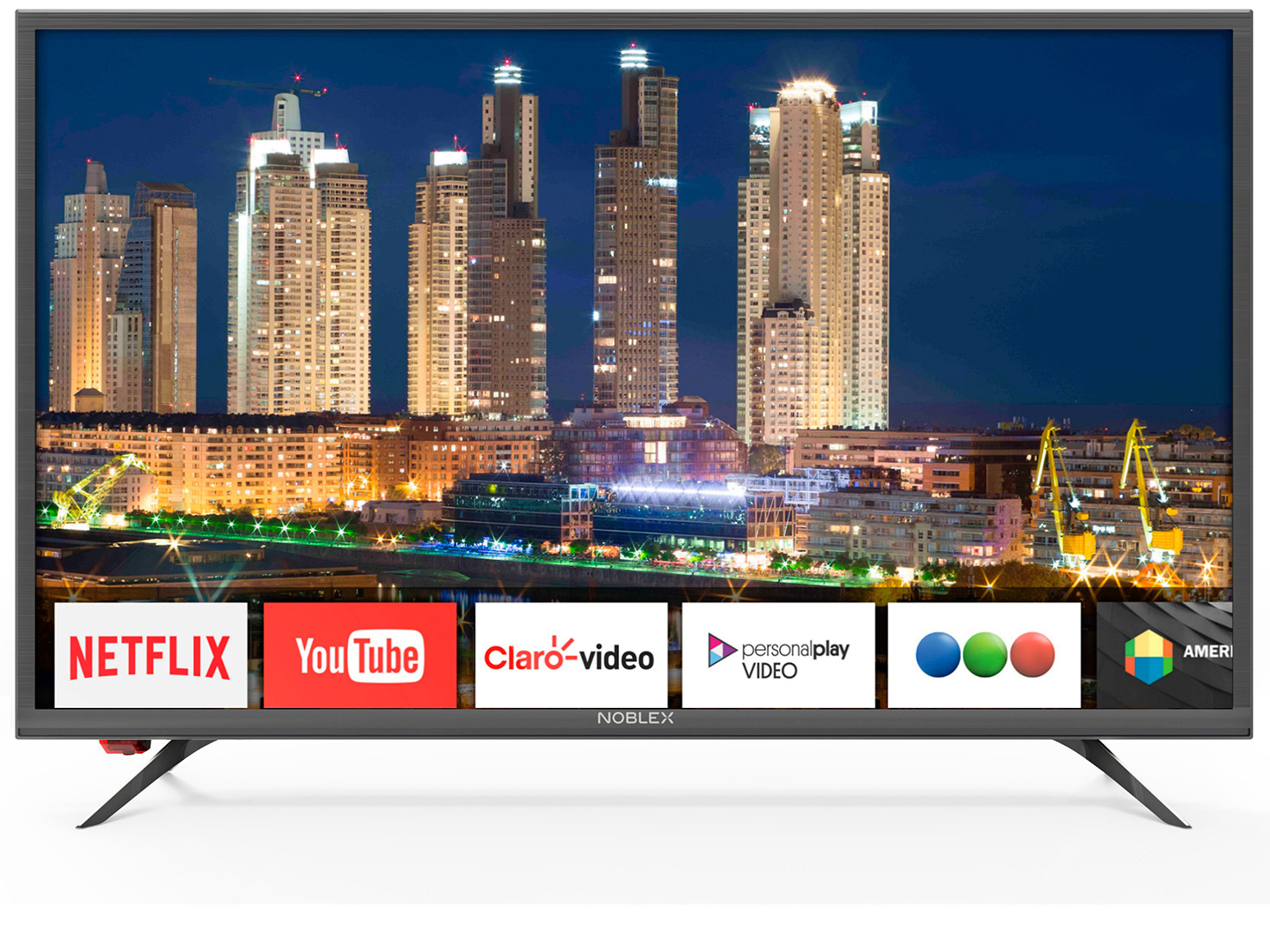 "SMART TV LED NOBLEX 32"" HD/USB/HDMI/NETFLIX."