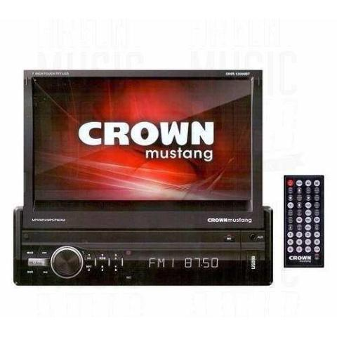 "REPRODUCTOR CROWN MUSTANG 52W/PANTALLA 7""/BLUETOOTH."