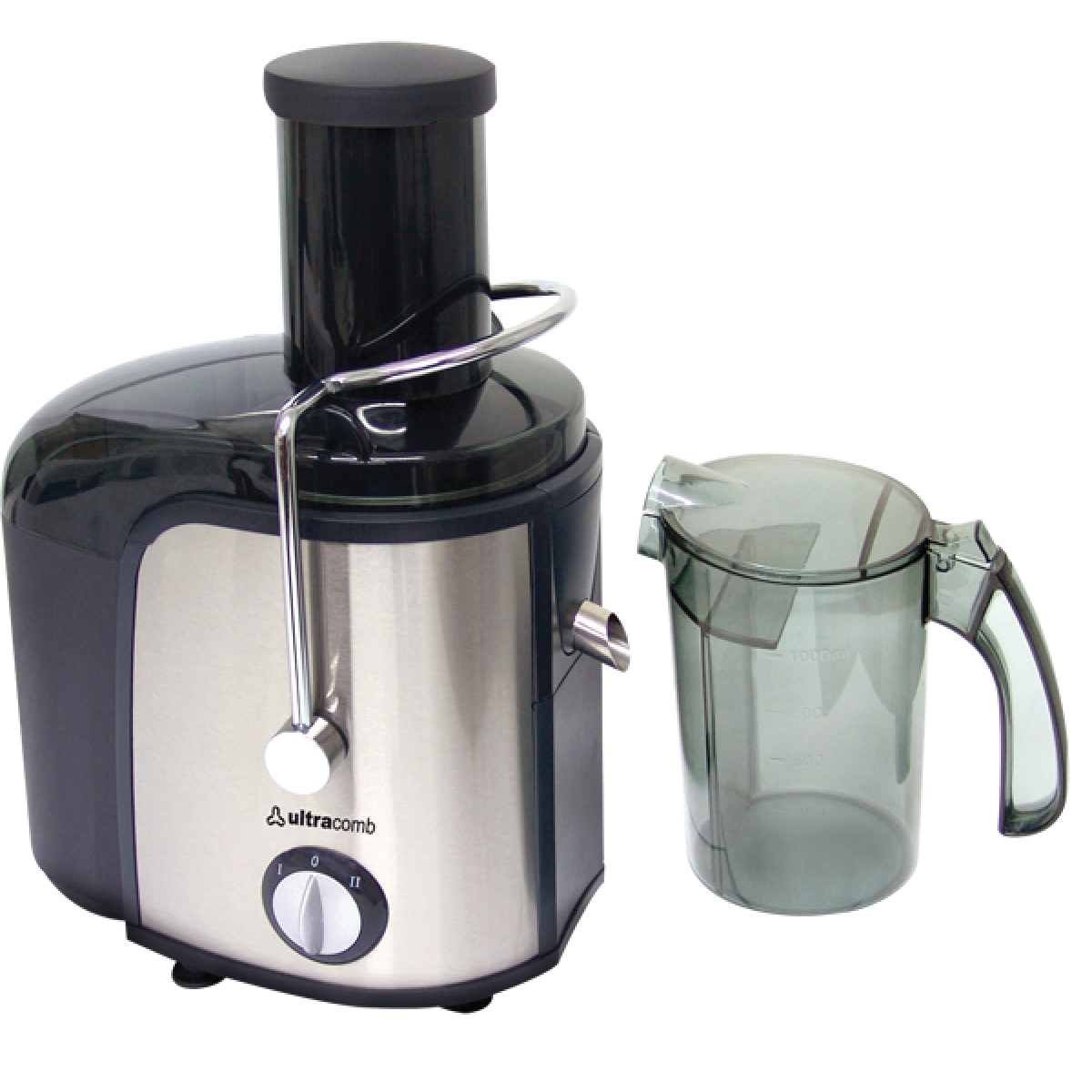 EXTRACTOR DE JUGOS ULTRACOMB ACERO INOXIDABLE/600W