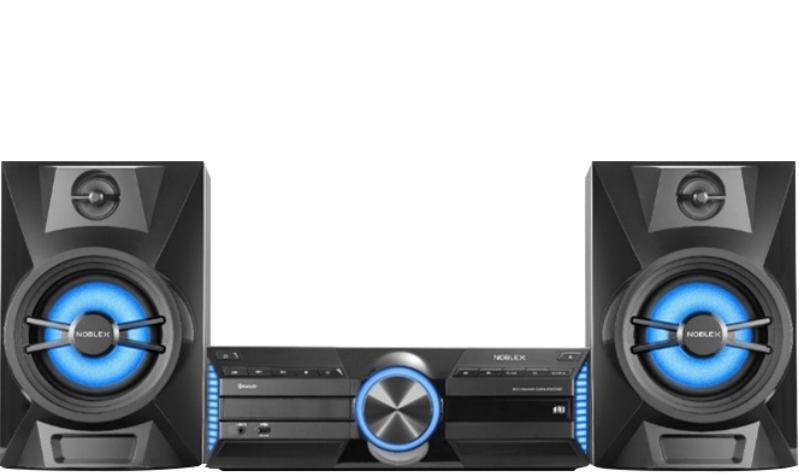 MINICOMPONENTE NOBLEX 7200W/CD/USB/CD-R/MP3/BLUETOOTH.