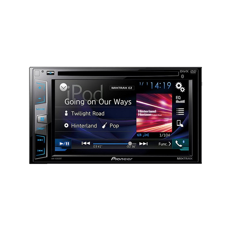"REPRODUCTOR PIONEER 50W/PANTALLA 7""/CD/MP3/USB/BLUETOOTH"